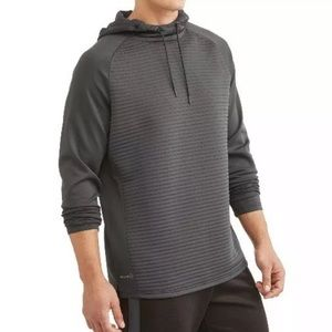 Men's Russell Ottoman Grey Pullover Hoodie NWT